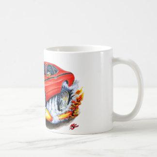1970-74 Plymouth Duster Red Car Coffee Mug