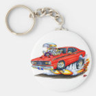 1970-74 Plymouth Duster Red Car Keychain