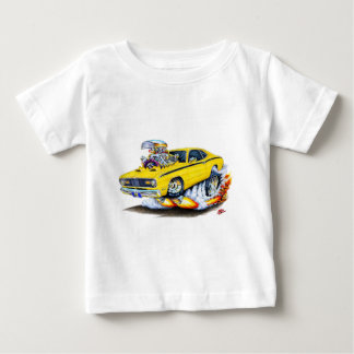 1970-74 Plymouth Duster Yellow Car Baby T-Shirt