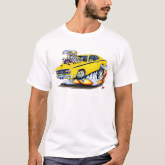 1970-74 Plymouth Duster Yellow Car T-Shirt