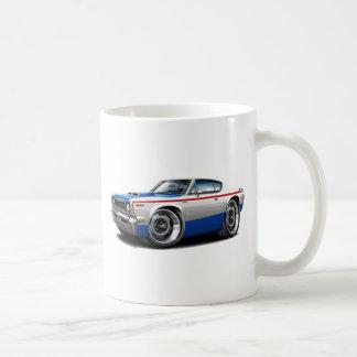 1970 AMC Rebel Machine Red-White-Blue Car Classic White Coffee Mug