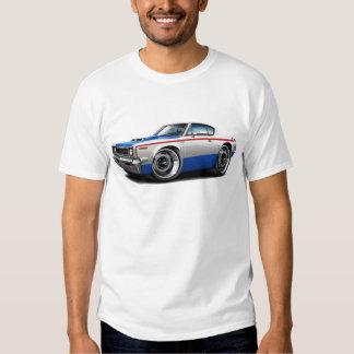 1970 AMC Rebel Machine Red-White-Blue Car Shirt