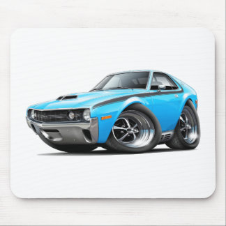 1970 AMX Big Bad Blue-Black Car Mouse Pad