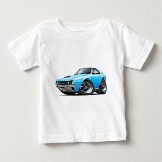 1970 AMX Big Bad Blue-White Car Baby T-Shirt