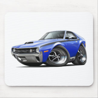 1970 AMX Blue-Black Car Mouse Pad