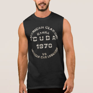 1970 Barracuda CUDA muscle car Plymouth Sleeveless T-shirt