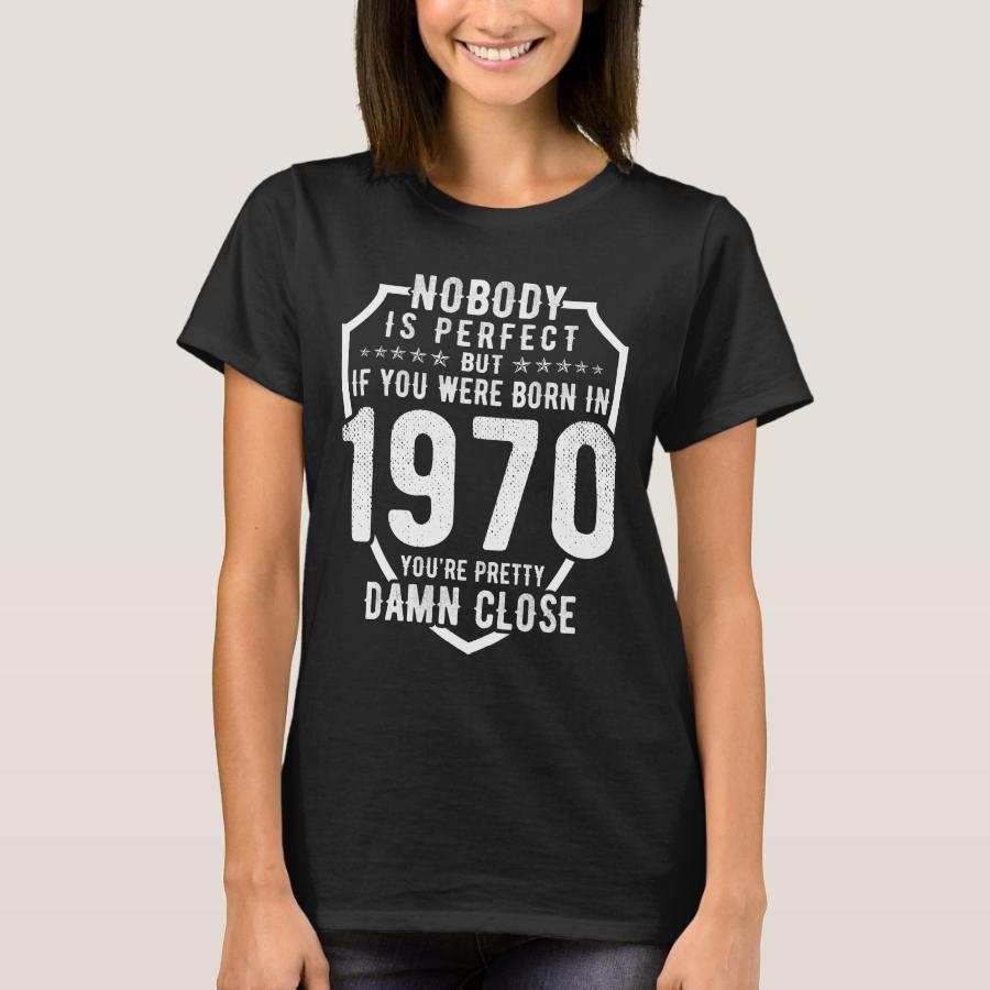 1970 Birthday T-Shirt - Best Selling Long-Sleeve Street Fashion Shirt Designs