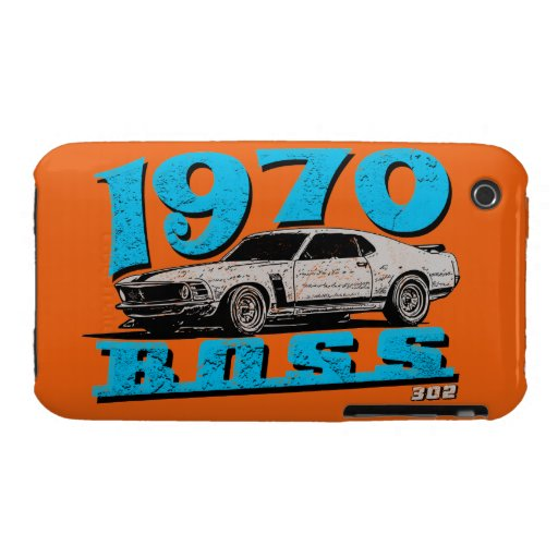 1970 Boss 302 iPhone 3 Case-Mate Cobertura