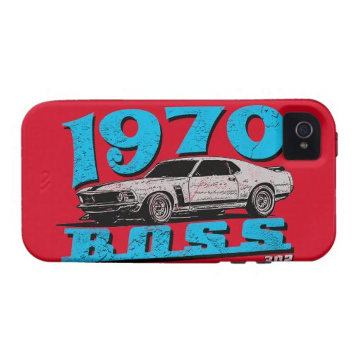 1970 Boss muscle car Case-Mate iPhone 4 Case