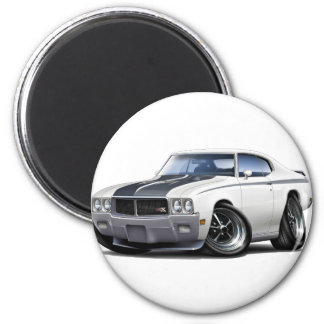 1970 Buick GSX White Car Magnet