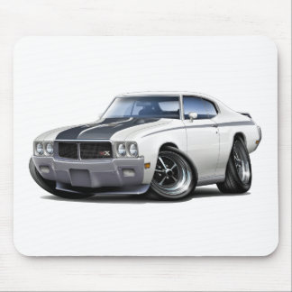 1970 Buick GSX White Car Mouse Pad