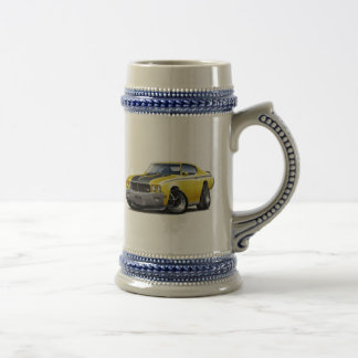 1970 Buick GSX Yellow Car Beer Stein