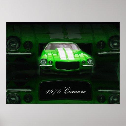 1970 Camaro Poster