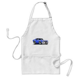 1970 Chevelle Blue-White Car Adult Apron