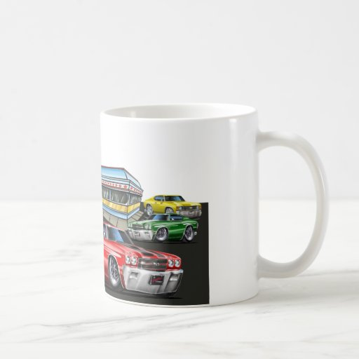 1970 Chevelle Diner Coffee Mug