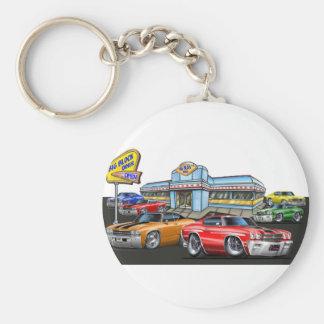 1970 Chevelle Diner Key Chain