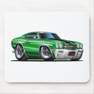 1970 Chevelle Green-Black Car Mousepads