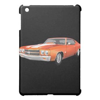 1970 Chevelle Muscle Car: Orange Finish: iPad Case