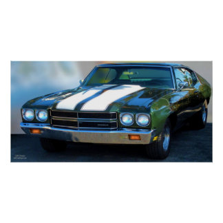 1970 CHEVELLE POSTER