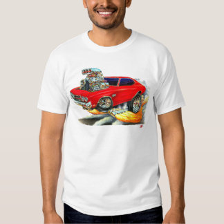 1970 Chevelle Red Car T-Shirt