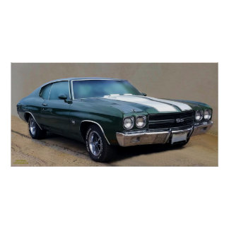 1970 CHEVELLE SS454 POSTER