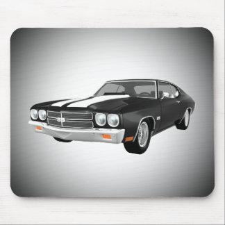 1970 Chevelle SS: Black Finish: Mousepad