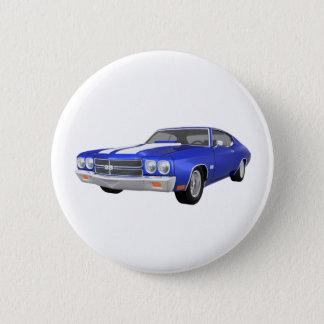 1970 Chevelle SS: Blue Finish: Button