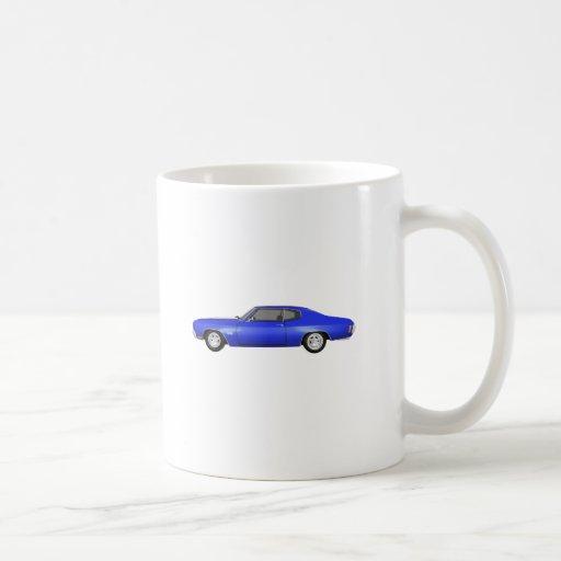 1970 Chevelle SS: Blue Finish: Coffee Mug
