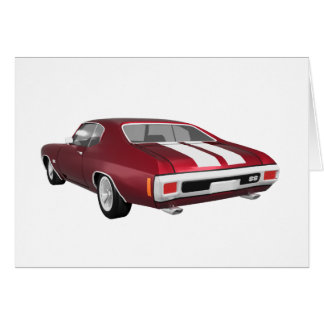 1970 Chevelle SS: Candy Apple Finish: Cards