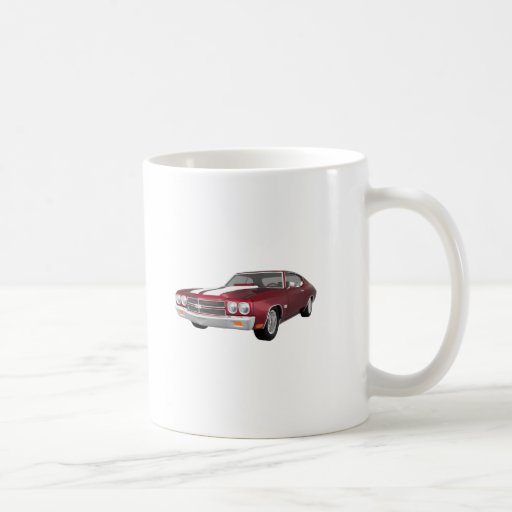 1970 Chevelle SS: Candy Apple Finish: Coffee Mug