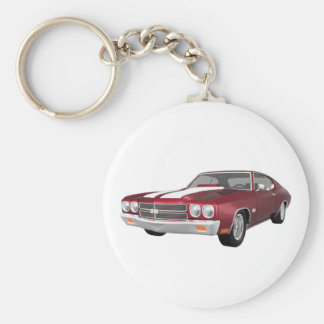 1970 Chevelle SS Candy Apple Finish Keychains