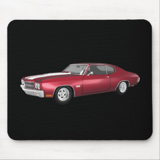 1970 Chevelle SS: Candy Apple Finish: Mouse Pad