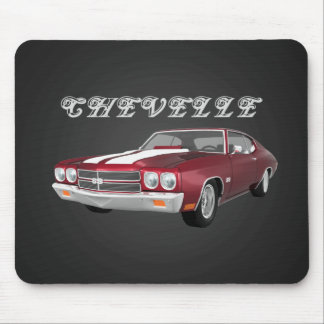 1970 Chevelle SS: Candy Apple Finish: Mousepad
