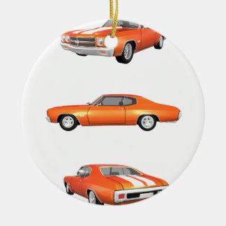 1970 Chevelle SS: Ceramic Ornament