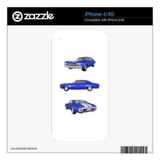 1970 Chevelle SS: Decals For The iPhone 4S