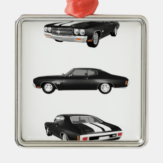 1970 Chevelle SS: Metal Ornament