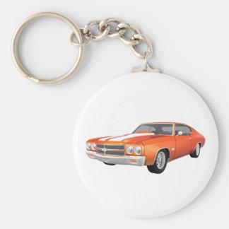 1970 Chevelle SS: Orange Finish: Key Chain