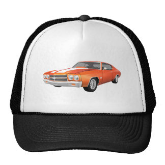 1970 Chevelle SS: Orange Finish: Trucker Hat