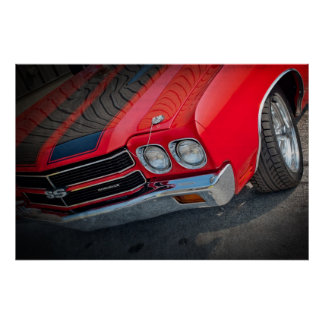 1970 Chevelle SS Poster