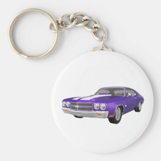 1970 Chevelle SS: Purple Finish: Keychain