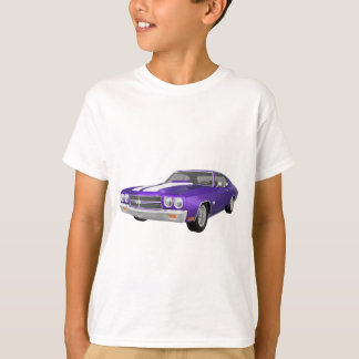 1970 Chevelle SS: Purple Finish: T-Shirt