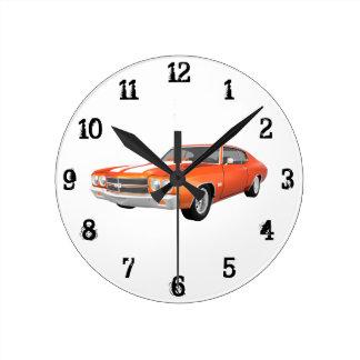 1970 Chevelle SS: Wall Clock