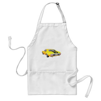 1970 Chevelle SS: Yellow Finish: Adult Apron