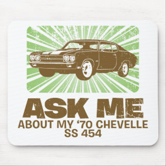 1970 Chevrolet Chevelle SS 454 Mouse Pad