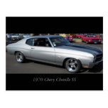 1970 Chevy Chevelle SS Postcard