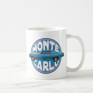 1970 Chevy Monte Carlo Light Blue Coffee Mug