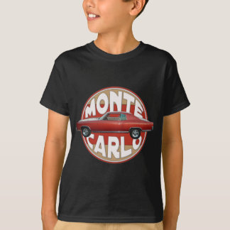 1970 Chevy Monte Carlo Red Line T-Shirt