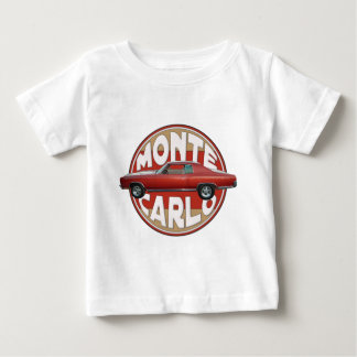 1970 Chevy Monte Carlo Red Line Tee Shirt