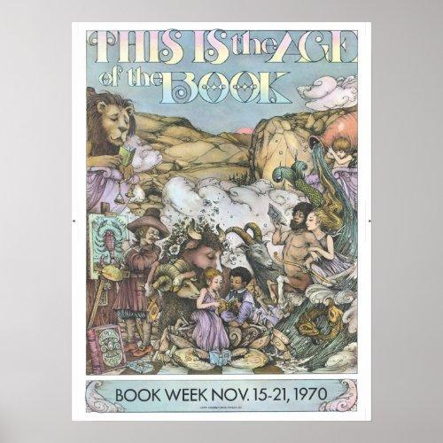 1970 Childrens Book Week Poster