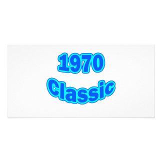 1970 Classic Blue Card